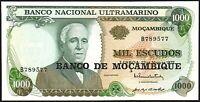 1972 (1976)  MOZAMBIQUE 1000 ESCUDOS BANKNOTE * UNC * P-119a *