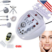5in1 Diamond Microdermabrasion Ultrasonic Dermabrasion Skin Scrubber Machine US