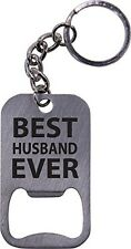 Best Husband Ever Bottle Opener Key Chain - Great Gift for Father's Day, Valenti