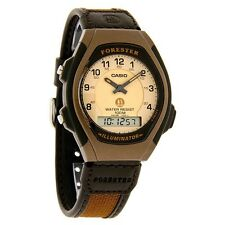 Casio Analog/Digital 100 Meter WR Nylon Srap Watch, Alarm, FT600WB-5BV