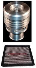 Ford Focus St Plata Collins válvula de descarga y Kit de Pipercross Panel Filtro De Aire