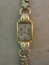 Vintage 14K Gold Ladies Swiss Wristwatch- Moeris