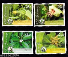 Norfolk Isls 25 yrs of conserve National Parks mint NH