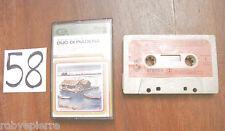 MC Musicassetta Cassetta audio DUO DI PIADENA znka 33106 cam 1977 valle del pò