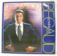 "33 tours Gilbert BECAUD Disque LP 12"" DESPERADO Olympia 1983 PATHE 1727751"
