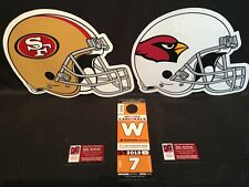 Arizona Cardinals v San Francisco 49ers 10/31 Orange W West Lot Parking Pass Tix