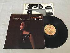 VIKKI CARR IT MUST BE HIM + INSERT 1980 USA RELEASE LP