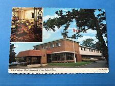 Vintage Postcard Post Card Linkletter Motel Summerside Prince Edward Island PEI