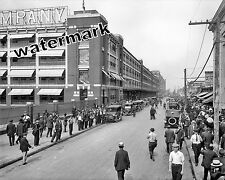 Photograph of the Ford Motor Highland Park Plant in  Detroit Year 1914c  8x10