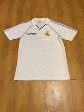 VTG 1988 Real Madrid La Liga Spanish Football Adult Small Hummel Soccer Jersey
