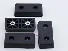 Set of 4 - Rectangular Rubber Feet .390