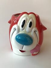 Vintage 1997 Viacom Ren And Stimpy Mug Cup Stimpy Nicktoons Nickelodeon Rare
