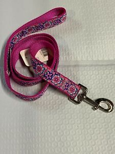 Pink with flowers leash 4 Ft