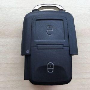 Volkswagen VW 2 Button Remote Key Fob Case Repair Golf Passat Polo Bora Jetta