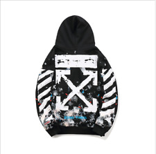 Off White Hoodie Virgil Abloh Pyrex Vision Street Sweatshirt Wear Jumper
