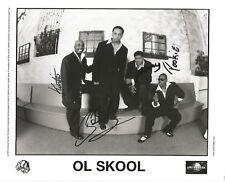 OL' SKOOL x4 Signed 8X10 AUTO URBAN R&B Pookie Lane Jefferson Love Crawford