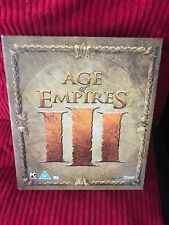 Age of Empires 3 pc Collector's Edition no game