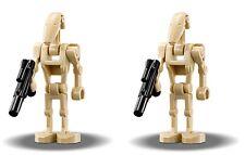 2 x LEGO® Star Wars™ Figur 75182 Battle Droid™ mit Blaster Republic Fighter Tank