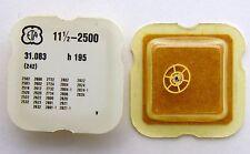 ETA original parts  Ref. 31.083 (242) cal. 2502 canon pinion h 195  N.O.S.