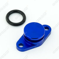 22mm BLUE ALUMINIUM SWIRL FLAP REPLACEMENT + O-RING FOR BMW 5 SERIES NEW
