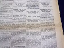 1930 MARCH 28 NEW YORK TIMES - REICH CABINET QUITS - NT 3896