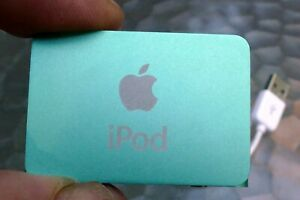 Apple iPod shuffle 2nd Generation Light Green (1 GB) does not work PARTS REPAIR