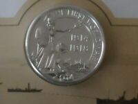 2014 £ 20.00 pound coin fine silver outbreak of war 1914-18 BU from the royal mi