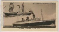 """1837 """"Sirius"""" Paddle-Steamer Vessel and 1937 """"Queen Mary"""" c80 Y/O Trade Ad Card"""