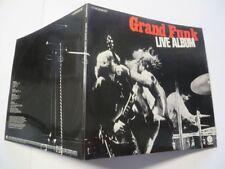 GRAND Funk Railroad live album 2-lp-set German Capitol VINILE/COVER: MINT -.