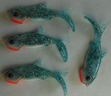 4 leurres souples Orka Gegule BL 9cm pêche mer rivière brochet sandre bar lieu