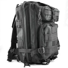 30L Outdoor Military Rucksacks Backpack Camping Travelling  Hiking Bag Black