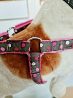 Nylon Step In Safety Dog/Puppy/Pet Animal Harness Adjustable medium bobby