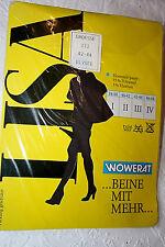 Original 70er Jahre Nylon Strumpfhose Gr. 44 Schwarz 20 Den Vintage Strümpfe