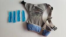 Tops Pet Products Sz XL Harness Vest Blue Cooling Inserts Pads Pug Bulldog Fit