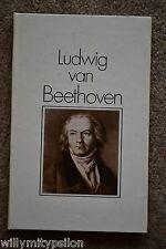 4 Bücher Bibliographisches Institut Leipzig. Beethoven/Händel/Weber/Meistergesan