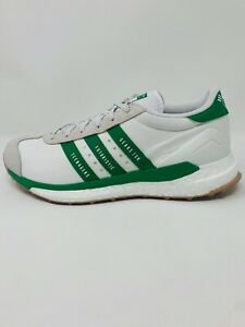 Adidas Human Made Country Shoes Off White Green S42973 - Men's Size 10,12