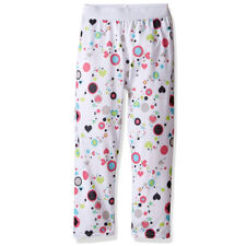 Hot Chillys Youth Pepper Skins Bottom, Dots & Hearts-White, Large