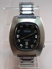 Vintage TECHNOS Spider Automatic Gents Watch - RUNNING 25 Jewels
