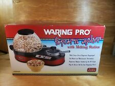 NEW!! WARING PRO Electric Popcorn Maker with Melting Station PCM2000SA