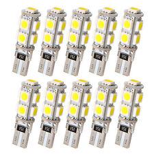 10x LED Standlicht T10 9 SMD Power SMD Xenon Weiss für Scheinwerfer 12 Volt