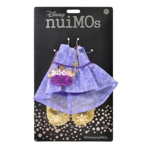 Disney Store Japan Nuimos Poupée Peluche Costume Robe Ensemble Tangled Raiponce