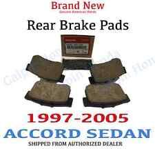 97-06 Honda ACCORD 4DR Genuine Factory OEM Rear Brake Pad Set (43022-S84-A50