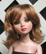 """Doll Wig, Monique Gold """"Rose"""" Size 6/7 in Brownish Red"""
