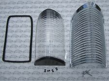 1963 1964 Buick Riviera Chrome Parking Lamp Assembly. Grill, Lens, Gasket, Screw