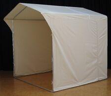 Marktzelt-Marktstand-Marktschirm-texmar-Zelt-Schirm 2x2 Meter beige