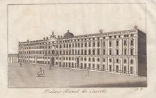 Caserta, Palazzo Reale, 1824  acquaforte al bulino