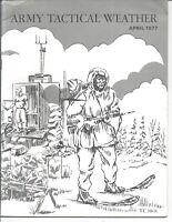 🎖️ U.S. Army Tactical Weather TC30-11 April 1977 Training Circular