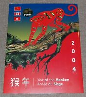 Canada Lunar New Year collection - Year of the Monkey 2004 - China Hong Kong