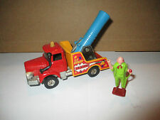 Corgi - Human Cannon Truck LE Great Marvo no. 1163 with 1 zirkusfigur