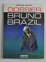 BRUNO BRAZIL: Dossier BD French Comic Book William Vance, Louis Albert 1977